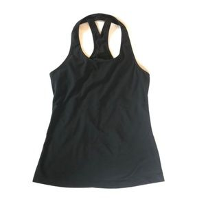 Lucy | Razorback Black Active Tank Top Size S